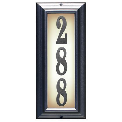 Qualarc Edgewood LTV1303PW Address Plaques, LTV 1303 PW