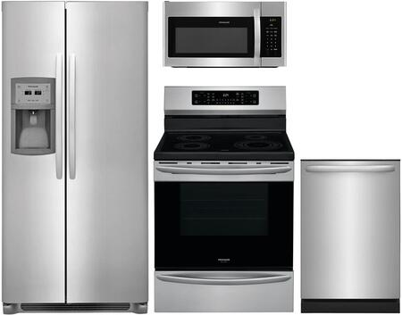 Frigidaire  909227 Kitchen Appliance Package Stainless Steel, 23