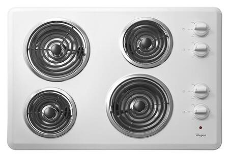 Whirlpool  WCC31430AW Electric Cooktop White, WCC31430AW Electric Cooktop