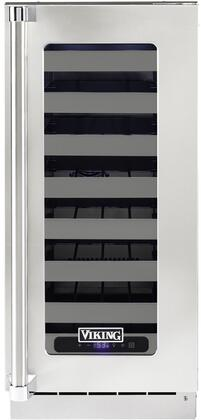 Viking 5 Series VUWC515GSS Wine Cooler 26-50 Bottles Stainless Steel, VUWC515GSS Wine Cellar