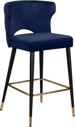Meridian Kelly 791NavyC Bar Stool Blue, Main Image
