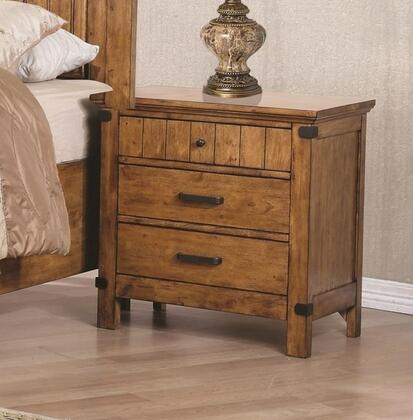 Coaster Brenner 205262 Nightstand Brown, Main Image