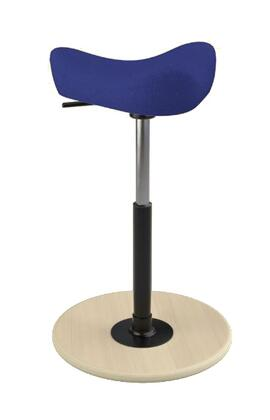Varier Move Small MOVESMALL2700HALLINGDALE723NATMEBLK Office Stool, Main Image
