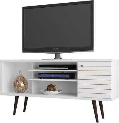Manhattan Comfort 200AMC6 52 in. and Up TV Stand White, 200AMC6 A