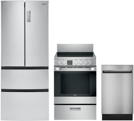 Haier 988931 Kitchen Appliance Package & Bundle Stainless Steel, 1