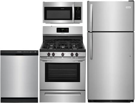 Frigidaire  842382 Kitchen Appliance Package Stainless Steel, main image