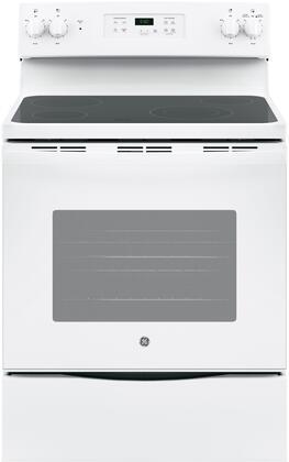 GE JBS60DKWW Freestanding Electric Range White, Main Image