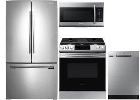 Samsung  1122762 Kitchen Appliance Package Stainless Steel, Main image