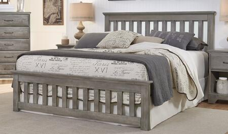 Carolina Furniture Vintage 5375503971900 Bed Gray, Main Image