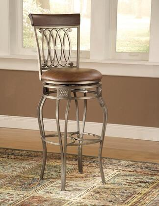 Hillsdale Furniture Montello 41544 Bar Stool Gold, Image 1