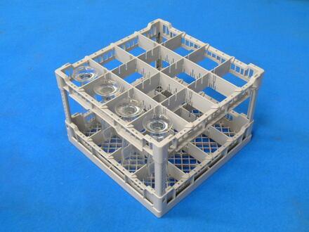 CC00125 Restaurant Commercial Dishwashers Glass Rack/ 16 Glasses
