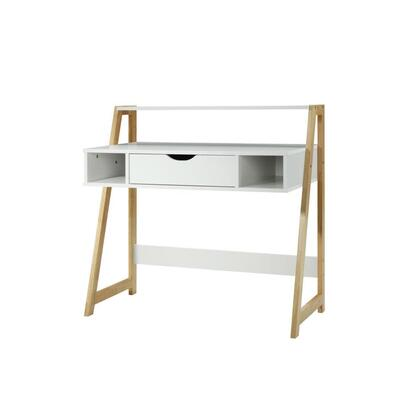 994294 Heidi Collection Desk  in White and Natural