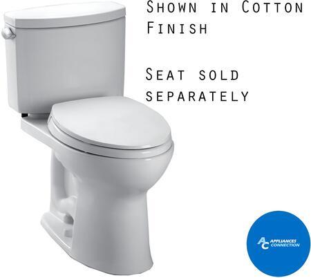 Toto Drake II CST454CEFG Toilet, 1