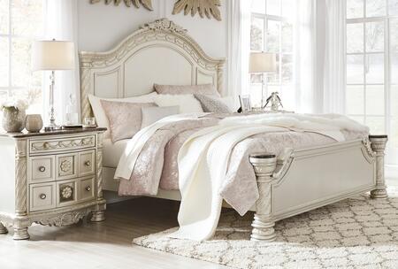 Signature Design by Ashley Cassimore B750CKPBBEDROOMSET Bedroom Set Silver, Main Image
