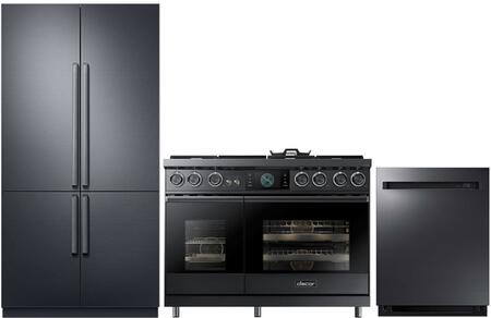 Dacor  938658 Kitchen Appliance Package Graphite Stainless Steel, 1