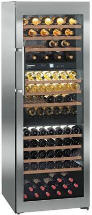 Liebherr  WS17800 Wine Cooler 76 Bottles and Above Stainless Steel, WS17800 Wine Chiller