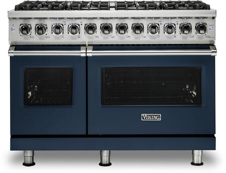 Viking 5 Series VDR5488BSBLP Freestanding Dual Fuel Range Blue, VDR5488BSBLP Dual Fuel Range