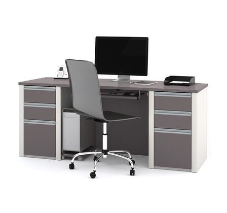 Bestar Furniture Connexion 9385059 Office Desk Multi Colored, Main Image