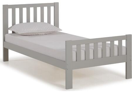 Bolton Furniture Aurora AJAU1080 Bed Gray, AJAU1080 side