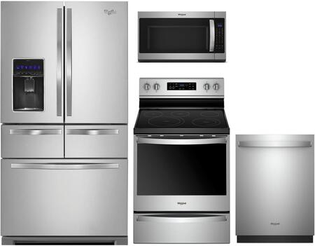 Whirlpool 1054541 Kitchen Appliance Package & Bundle Stainless Steel, main image