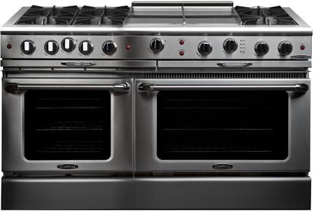 Capital Culinarian CGSR604GG2N Freestanding Gas Range Stainless Steel, Main Image