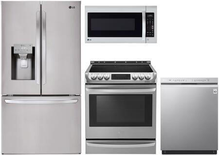 LG  1118702 Kitchen Appliance Package Stainless Steel, Main Image