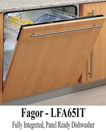 Fagor LFA65IT Built-In Dishwasher Panel Ready, 1