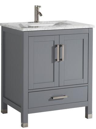 "Ricca Collection MTD-6230G 30"" Single Sink Bathroom Vanity Set in"