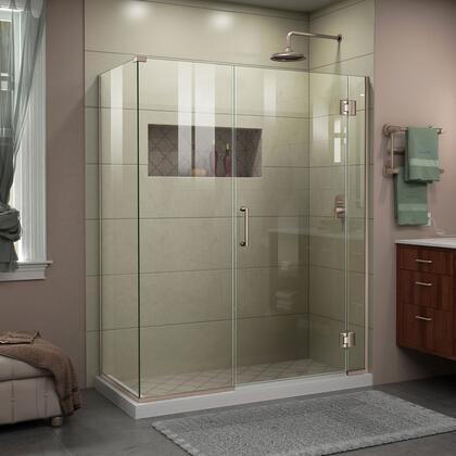 DreamLine Unidoor-X E1242253004 Shower Enclosure Silver, Unidoor X Shower Enclosure 6HP 30D 22IP 30RP 04