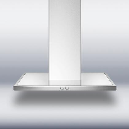 Summit Professional SEH4630 Wall Mount Range Hood Stainless Steel, 1