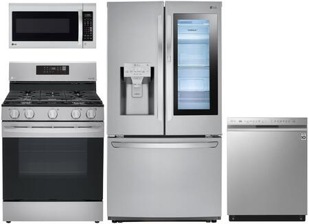LG  1130483 Kitchen Appliance Package Stainless Steel, Main Image