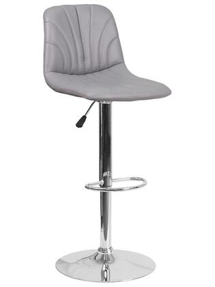 Flash Furniture DS8220 DS8220GYGG Bar Stool Gray, DS8220GYGG