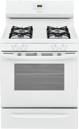 Frigidaire  FCRG3015AW Freestanding Gas Range White, Main Image