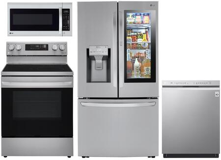 LG  1240299 Kitchen Appliance Package Stainless Steel, main image