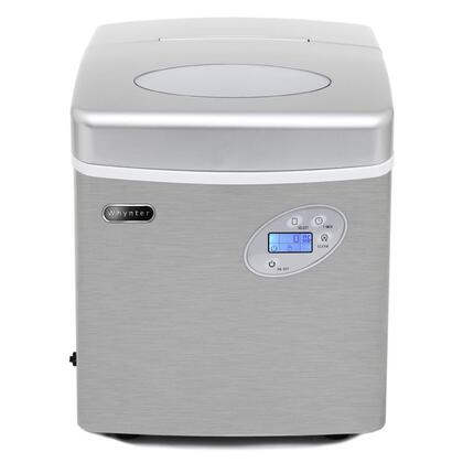 Whynter IMC490SS Ice Maker Stainless Steel, Front View