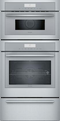 Thermador Masterpiece MEDMCW31WS Double Wall Oven Stainless Steel, Main Image