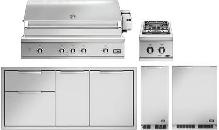 DCS  998686 Grill Package Stainless Steel, 1
