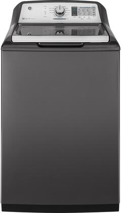 GE GTW750CPLDG 27 Inch Top Load Washer with 5 cu. ft. Capacity, in Gray