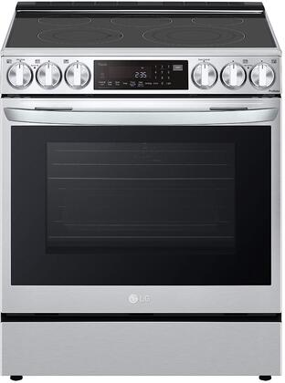 LG  LSEL6335F Slide-In Electric Range Stainless Steel, LSEL6335F Slide In Electric Range