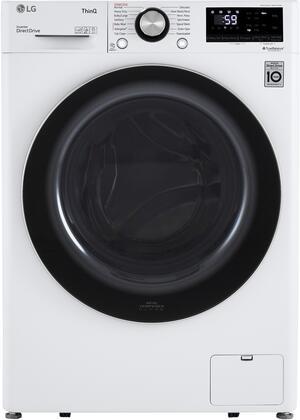 LG  WM1455HWA Washer White, WM1455HWA Front