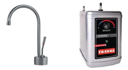 Franke Ambient LB71803HT Faucet Silver, Main Image