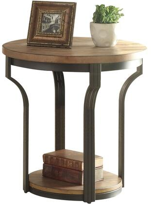 Acme Furniture Geoff 80462 End Table Brown, End Table
