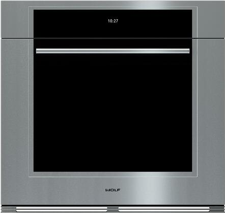 Wolf M Series SO30TMSTH Single Wall Oven Stainless Steel, Main Image