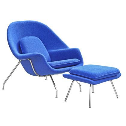 Fine Mod Imports Woom FMI1134BLUE Accent Chair Blue, FMI1134BLUE side