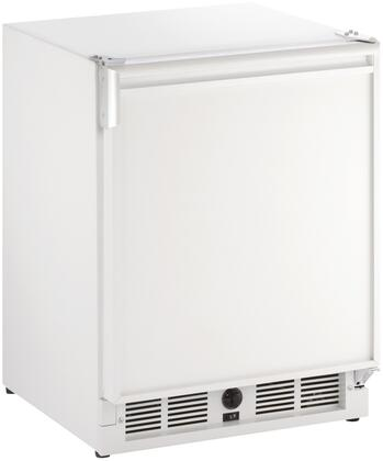 """ULN-CO29W-03A 21"""" Marine Series Combo Compact Refrigerator with 2.1 cu. ft. Capacity Mechanical Cooling System Door Storage 2 Glass Shelves and"""
