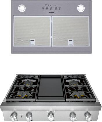 Thermador Professional 1071352 Kitchen Appliance Package Stainless Steel, main image