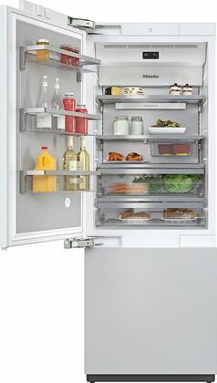 Miele MasterCool KF2812VI Bottom Freezer Refrigerator , KF2812Vi MasterCool Bottom Freezer Refrigerator