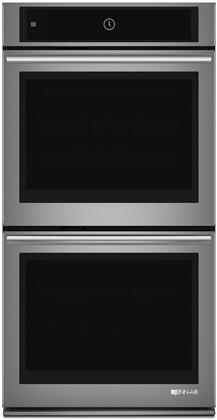 """JENN-AIR JJW2827DS 27"""" Full Color Menu LCD Display Stainless Double Wall Oven"""
