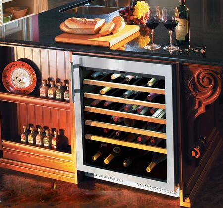 Liebherr WU5600 Wine Cooler 51-75 Bottles Stainless Steel, WU5600  Built-in Wine Cabinet