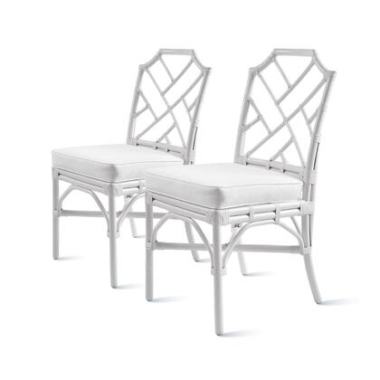 2400029-W Kara Rattan Chair Set of 2  in